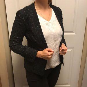 BCBGMAXAZRIA Pin Dot Suit Jacket